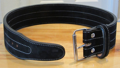 Single Prong Power Lifting Belt Inzer Weight Lifting Suede Leather Belt 1 Year W