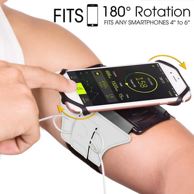VUP Running Armband Sports Armband for iPhone X/ iPhone 8 Plus/ 8/ 7 Plus/ 6 Plu