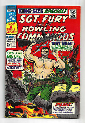 Sgt Fury Special #3  Very Fine / Near Mint  1967   All New Material!  Nice!