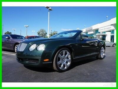 2009 Bentley Continental GT GTC Convertible 2-Door 2009 Used Turbo 6L W12 60V Automatic AWD Premium