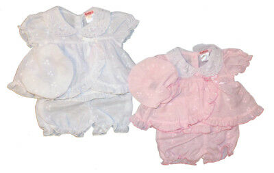 Premature Preemie Baby Girls clothes Dress pants hat Pink 3-5lbs 5-8lb reborn