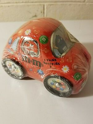 Vintage M&M Car Collectible advertising candy Mars   Red M and M Box 2034