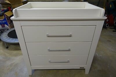 Mamas & Papas Coastline Dresser Drawers Changing Unit - White