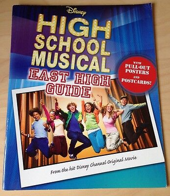 Disney  High School Musical : East High Guide by Parragon Book Service Ltd (Pape