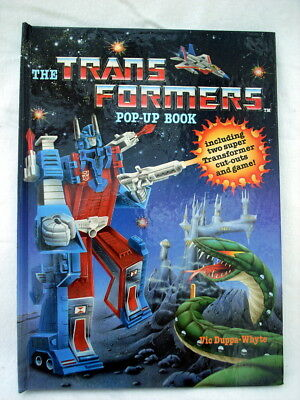 The Transformers Pop-Up Book 1986