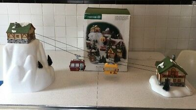 Department 56 Village Animated Gondola Retired As Is Works