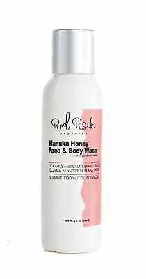 Red Rock Organics Coconut Oil Face & Body Wash with Manuka Honey and Organic & |