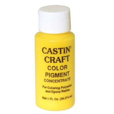 Castin Craft Casting Resin Opaque Yellow Pigment Dye (1 Ounce)