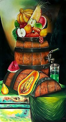 Original Art Painting Oil Canvas Cuban Art Arte Cuba YOANDRIS PEREZ BATISTA 71