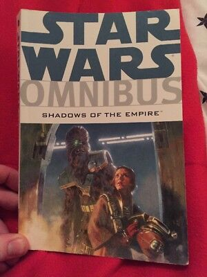 star wars omnibus Shadows Of The Empire Graphic Novel.