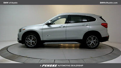 2017 BMW X1 sDrive28i Sports Activity Vehicle sDrive28i Sports Activity Vehicle 4 dr Automatic Gasoline 2.0L 4 Cyl Glacier Sil