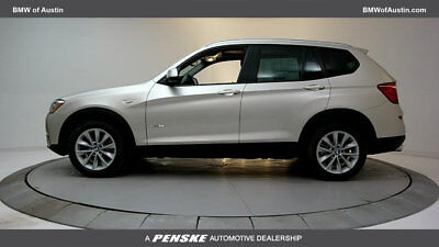 2017 BMW X3 sDrive28i sDrive28i Low Miles 4 dr Automatic Gasoline 2.0L 4 Cyl Mineral Silver Metallic