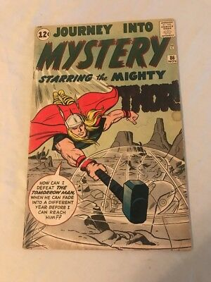 Marvel Journey into Mystery #86 Starring Thor Nov 1962 Silver Age Jack Kirby