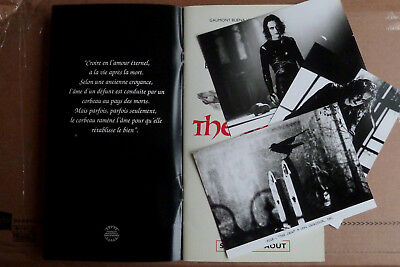 Dossier de Presse / French Press Book THE CROW (1994) Alex Proyas Brandon Lee