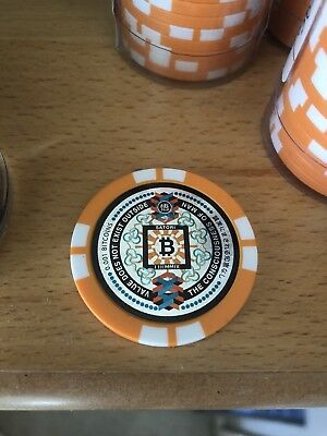 Satori Coin Bitcoin Collectible Japanese Poker Chip Sold Out