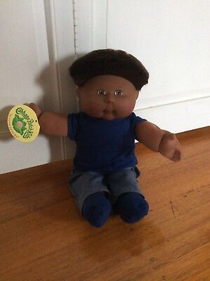 Cabbage Patch  Doll -CHEEKY BOY WITH SOFT SPIKY HAIR - NEW