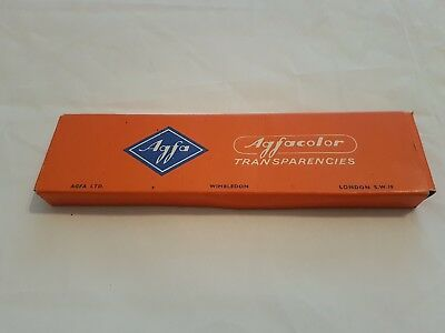 Vintage Agfa Transparency Card Holders Boxed AgfaColor