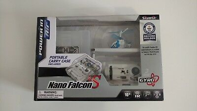 Silverlit Nano Falcon XS World's Smallest Remote Control Helicopter