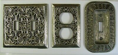 Vintage Brass Light Switch American Tack & Hardware 1968, Single, Double, Outlet