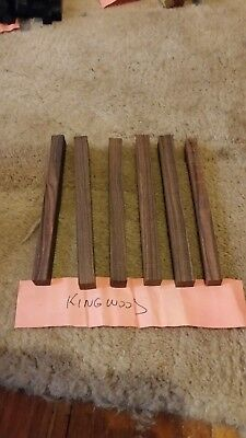 Kingwood wood turning timber pen blanks. 6 of 10 x 10 x 120