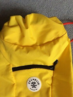 Crumpler Squid Backpack -   NEW          Bright Yellow colouring        Last one