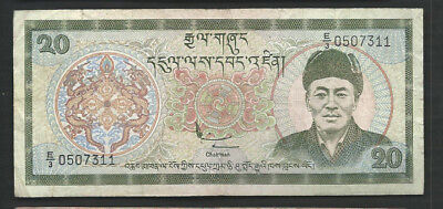 Bhutan 2000 20 Ngultrum P 23 Circulated