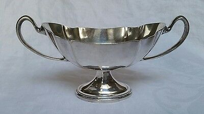Sheets Rockford Silver Plate Co Handle Pedestal #1514 Sauce Bowl Sugar 1925-1956