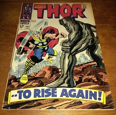 "The Mighty Thor #151 * VG+ 4.5 ""Destroyer & Ulik App."""