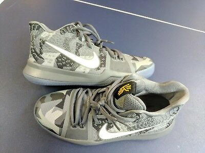 c44833ad600e NIKE Promo Sample Kyrie Irving 3 EYBL Gray camo Basketball Shoes M 6.5 W 8  New