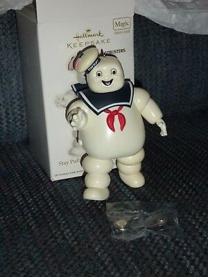 Hallmark 2012 Keepsake Ornament - GHOSTBUSTERS Stay Puft Marshmallaw Menace