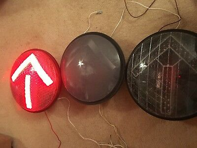 Arrow Traffic signal lights set of 3