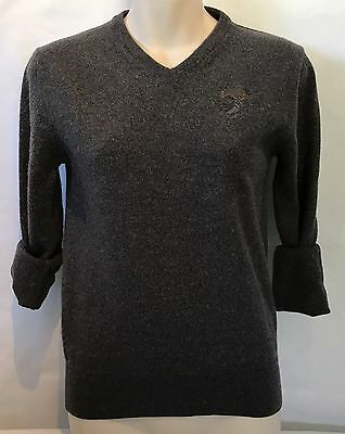 1990's Versace Wool Sweater Pullover Fashion Knit Unisex Size Small Designer