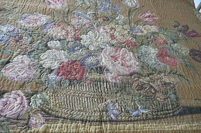 Antique Woven Tapestry/Wall Hanging on Hanger