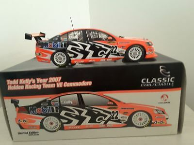 Todd Kelly 2007 Holden Racing Team HRT VE Commodore V8 Supercar 1:18