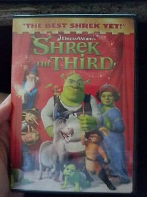 Shrek the Third (DVD, 2007)
