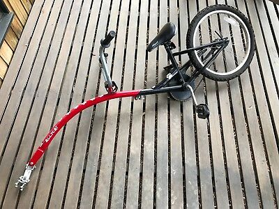 Childs Tag Along Bike - 20 inch wheel