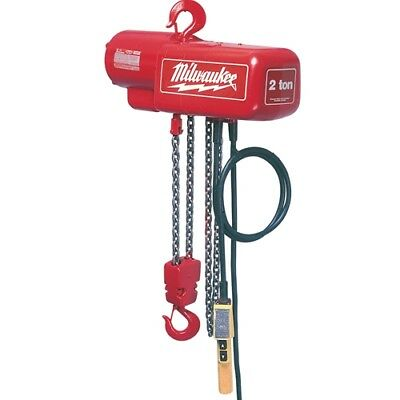 Milwaukee 9560 1/2 Ton Electric Chain Hoist - 10 ft.