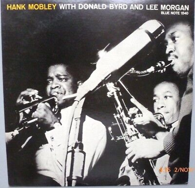 Hank Mobley with Donald Byrd + Lee Morgan -LP on Blue Note 1540 Japan press