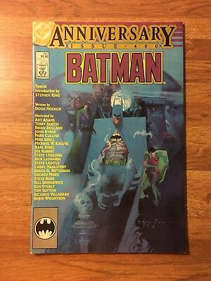 BATMAN #400 (DC 1986) KEY Anniversary Issue STEPHEN KING Intro FN ~ See My Store