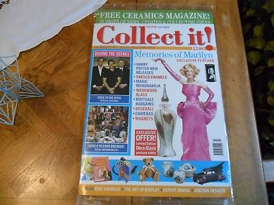 Collect It #84  Still Sealed Marilyn Monroe Wedgwood Glass Cameras Baseball
