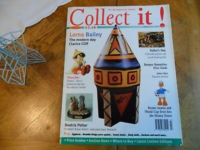 COLLECT IT No 13 LORNA BAILEY PINOCCHIO BEATRIX POTTER SINDY DOLL BRAMBLEY HEDGE