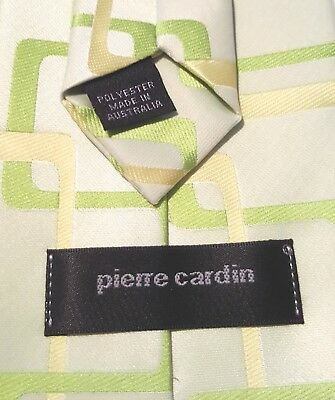 Vintage Retro PIERRE CARDIN Mens Tie - Australia Made - Awesome Design & AS NEW!