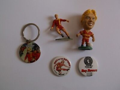 roy of the rovers - Figures, badges & keyrings - rare and collectable