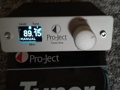 Pro-Ject Tuner Box Silver