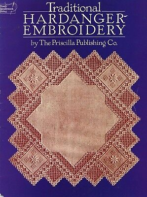 Traditional Hardanger Embroidery - Dover Publications
