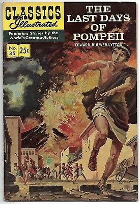 Classics Illustrated #35 (1970) – HRN 169 - The Last Days of Pompeii – FN/VF