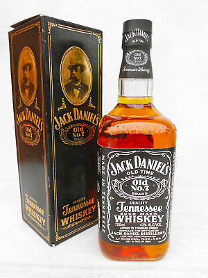 Jack Daniels Vintage Aust. Bottle With Rare Old box 750ml 43% Full/Sealed-Rare!!