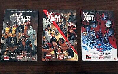 All-New X-Men (3 gebundene Hardcover), Bendis/Immonen/Marquez - erstkl. Zustand