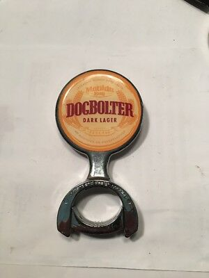Matilda Bay Dogbolter Dark Lager Beer Tap Decal Very Rare. Discontinued Beer.