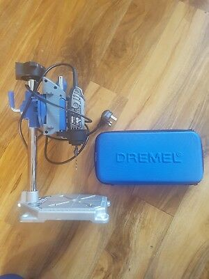 Workstation Drill Press Rotary Tool Holder & Dremel 3000 130W +cover